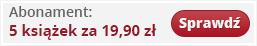 Abonament 5 ksi??ek za 19,90 z?