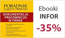 Ebooki INFOR -35%
