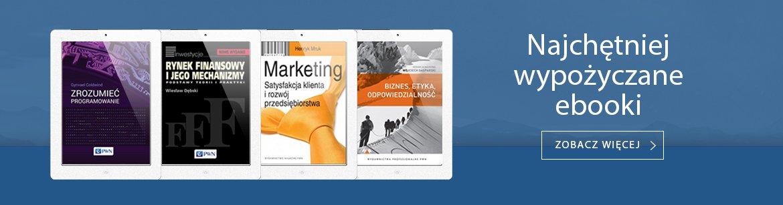 Najchętniej wypożyczane ebooki