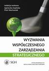 Wyzwania współczesnego zarządzania strategicznego