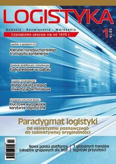 Logistyka 1/2019