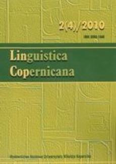 Linguistica Copernicana 2(4)2010