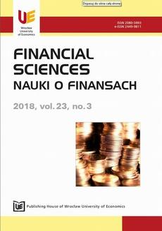 Financial Sciences 23/3