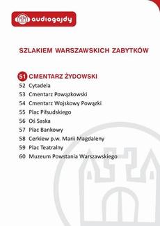 Cmentarz Żydowski. Szlakiem warszawskich zabytków