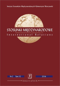 Stosunki Międzynarodowe nr 2(52)/2016 - Wojciech Grabowski:The Muslim Brotherhood and the Crisis in the GCC: Roots, Issues and Implications