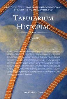 Tabularium Historiae T. IV: 2018