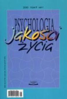 Psychologia Jakości Życia tom 9 nr 1/2010