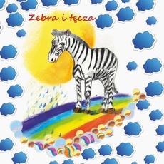 Zebra i tęcza