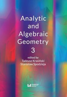 Analytic and Algebraic Geometry 3