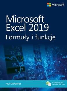 Microsoft Excel 2019: Formuły i funkcje