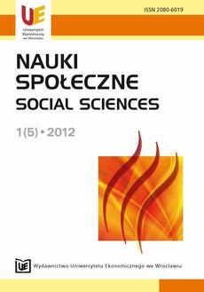 Nauki Społeczne 1(5)