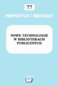 Nowe technologie w bibliotekach publicznych