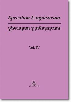 Speculum Linguisticum Vol. 4