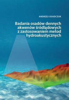 Badania osadów dennych akwenów śródlądowych z zastosowaniem metod hydroakustycznych
