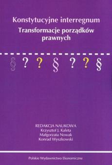 Konstytucyjne interregnum