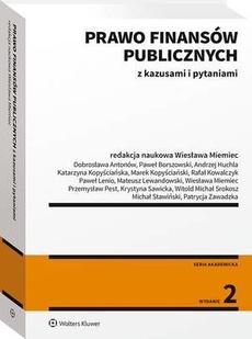 Prawo finansów publicznych z kazusami i pytaniami