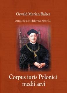 Corpus iuris Polonici medii aevi