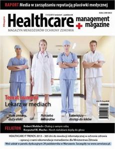 Healthacare Management Magazine 7 (12)/2013 wrzesień – październik
