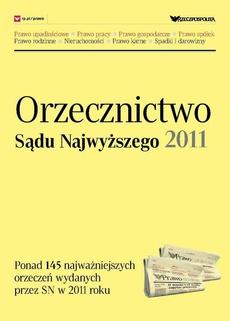 Orzecznictwo Sądu Najwyższego 2011