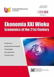 Ekonomia XXI Wieku 1(17)