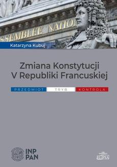 Zmiana Konstytucji V Republiki Francuskiej