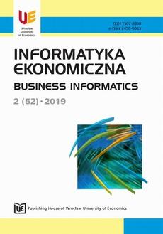 Informatyka ekonomiczna 2(52)