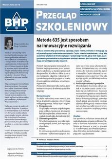 Przegląd szkoleniowy bhp wrzesień 2013 nr 19