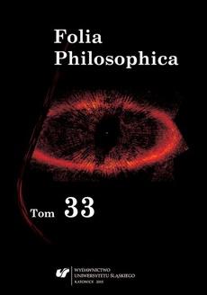 """Folia Philosophica. T. 33 - 05 Rozumienie pojęcia """"próżni"""" w filozofii Demokryta z Abdery"""