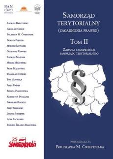 Samorząd terytorialny (zagadnienia prawne) Tom II
