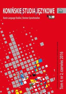 Konińskie Studia Językowe