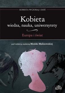 Kobieta Wiedza nauka uniwersytety Europa i świat