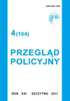 Przegląd Policyjny, nr 4(104) 2011