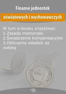 Finanse jednostek oświatowych i wychowawczych, wydanie listopad 2015 r.