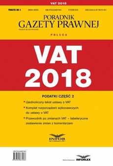 VAT 2018. Podatki cześć 2