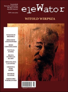 eleWator 23 (1/2018) - Witold Wirpsza