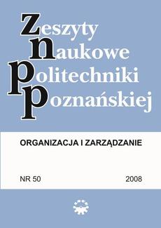 Organizacja i Zarządzanie, 2008/50