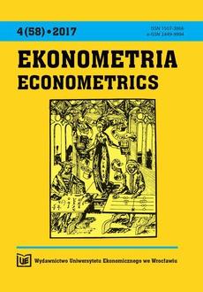 Ekonometria (58) 2017