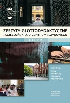 Zeszyty Glottodydaktyczne Jagiellońskiego Centrum Językowego 4 (2012)