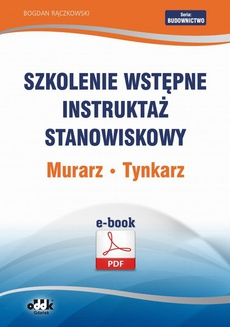 Szkolenie wstępne Instruktaż stanowiskowy Murarz. Tynkarz