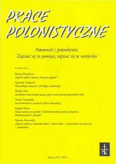 Zagadnienia Rodzajów Literackich t. 57 (114) z. 2/2014