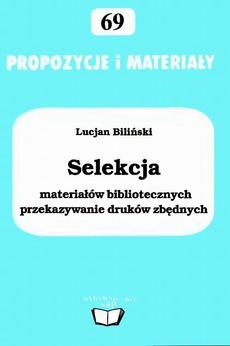 Selekcja materiałów bibliotecznych