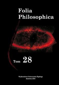 """Folia Philosophica. T. 28 - 02 Idee indywiduów a gradacja hipostazy psichi w """"Enneadach"""" Plotyna"""