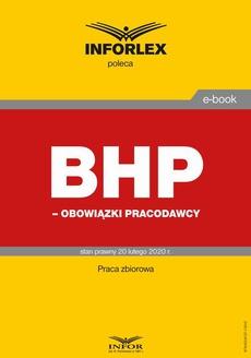 BHP – obowiązki pracodawców