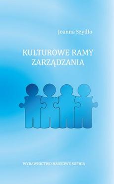 Lulturowe ramy zarządzania - WPROWADZENIE
