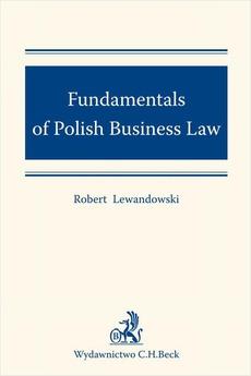Fundamentals of Polish Business Law
