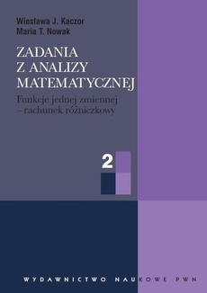 Zadania z analizy matematycznej, cz. 2