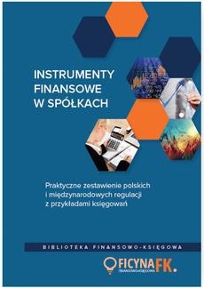 Instrumenty finansowe w spółkach