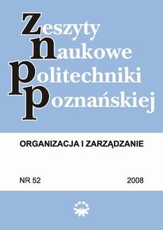 Organizacja i Zarządzanie, 2008/52