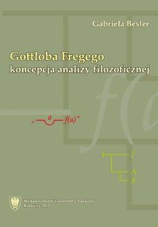 Gottloba Fregego koncepcja analizy filozoficznej