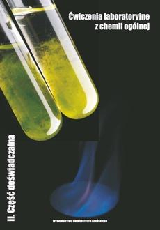 Ćwiczenia laboratoryjne z chemii ogólnej II